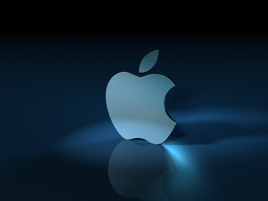 apple-3d-logo-wallpaper