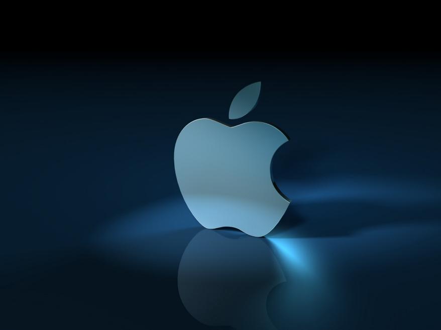 apple-3d-logo-wallpaper